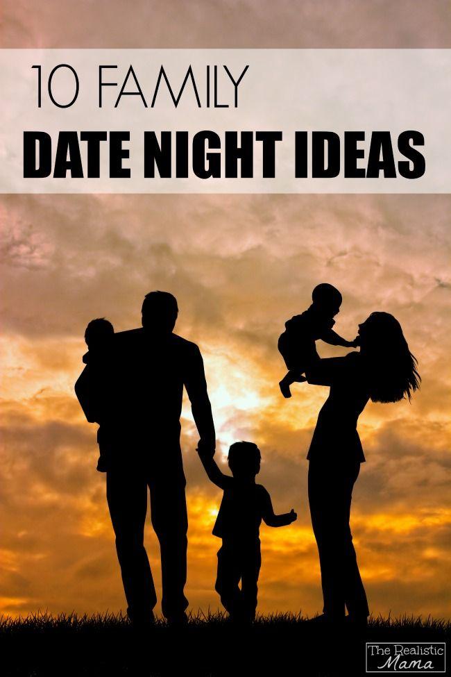 Family Date Night Ideas #sp