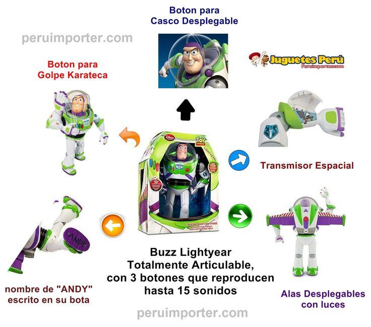 Buzz Lightyear de 32 cm.