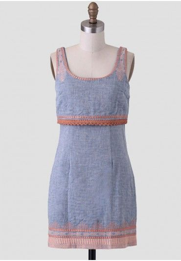 Tucson Sunset Chambray Dress