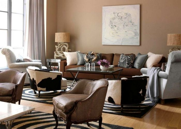 braunes sofa welche wandfarbe - Google-Suche