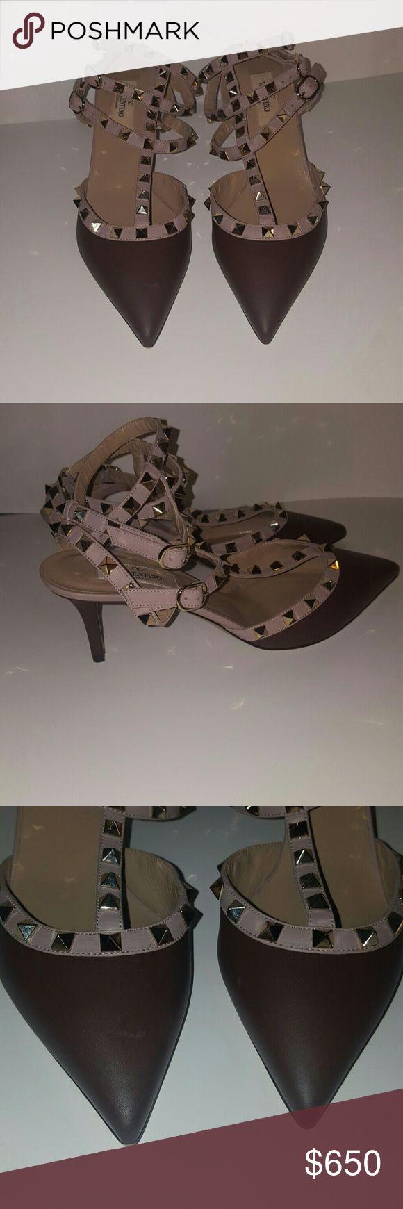 Valentino rock stud heels Brand New No Duster No box Valentino Shoes Heels