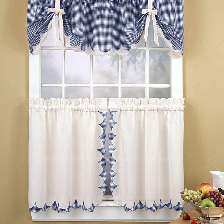 Inexpensive Kitchen Curtain Ideas: Best 25+ Kitchen Curtain Sets Ideas On Pinterest