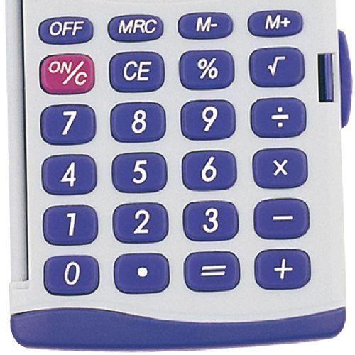 Sencor SEC263/8 karakteres zsebszámológép nagy kijelzővel Ft Ár 990