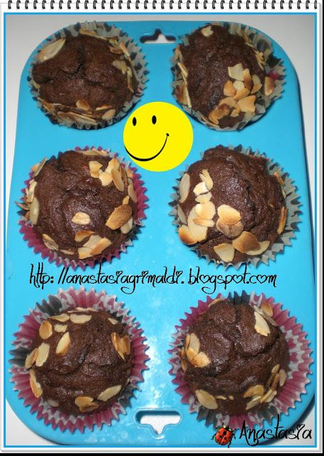 Any secret...: Muffin cioccolato e mandorle