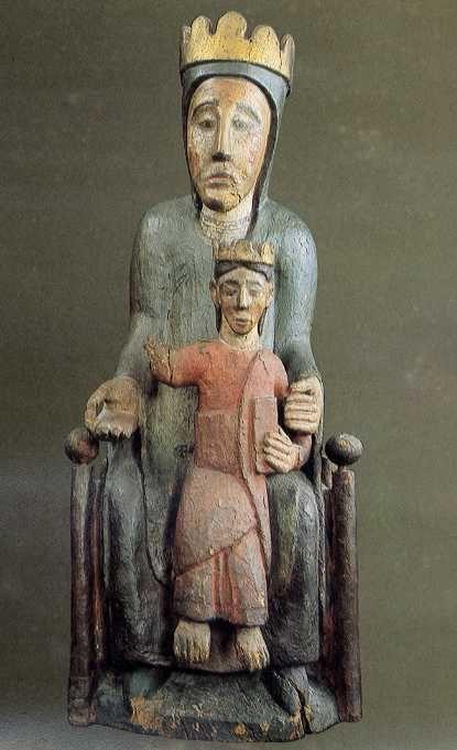 """Virgin and Child """"Sedes Sapientiae"""" (Romanesque)"""