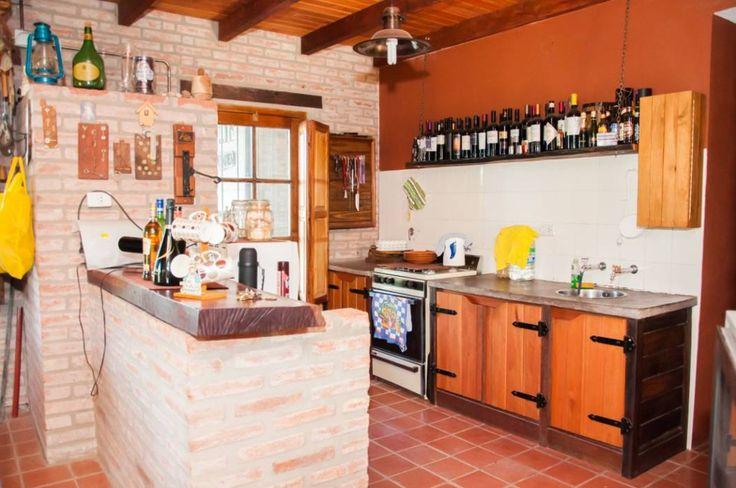 Cozinhas Rústico por Abitar arquitectura