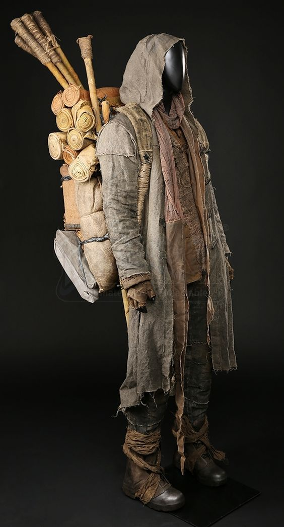Lot 20- Noah Auction - Noah Journeying Costume | Prop Store - Ultimate Movie Collectables: