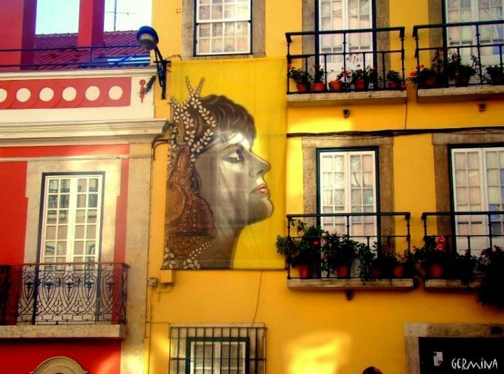 Museum-house Amália Rodrigues in Rua de Sao Bento - Lisbon - Portugal