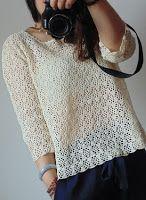 Tina's handicraft : blouses - pattern