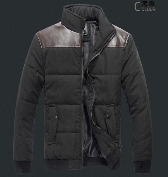 Fashion Urban Men's Leisure Cotton-Padded Jacket M-3XL 3 Colors