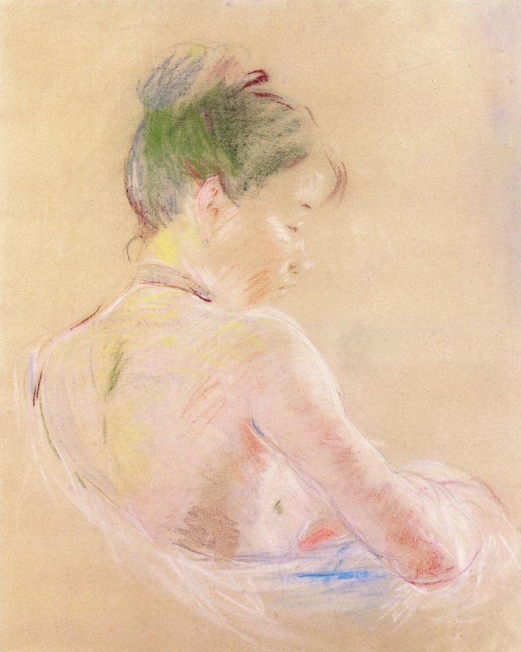 Girl with Bare Shoulders ~ Berthe Morisot