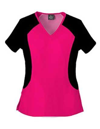 Livin Stretch Womens Nursing Scrub Top #NursingUniforms