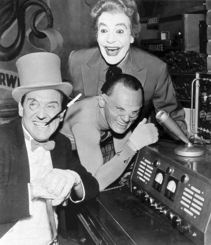 Batman villains   The Penguin The  Riddler The Joker 1967.