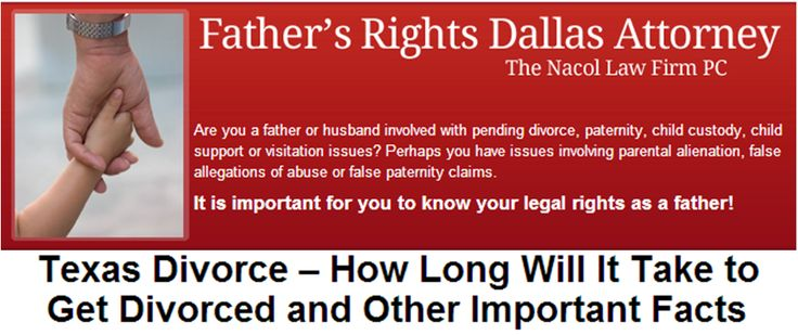 Dating and divorce in texas