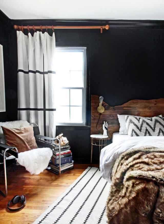 Modern cabin vibe. Bedroom   20 Examples Of Minimal Interior Design