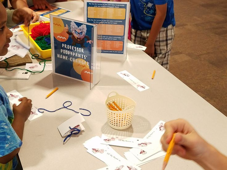 The Captain Underpants books already were flying off our shelves thanks to summer reading, but with the movie out, we knew we had to celebrate so we hosted a Captain Underpants Party! We ho…