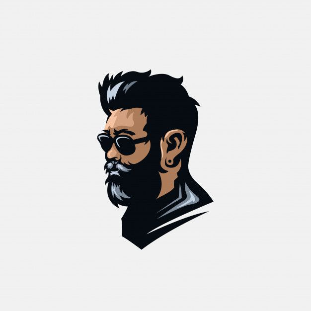 Graphic Resources For Everyone Beard Logo Beard Logo Design Picture Logo