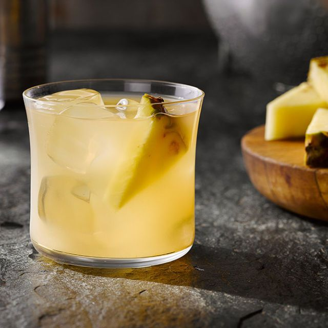 noble punch (tequila, pineapple)