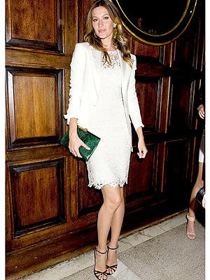 Gisele Bundchen red carpet style