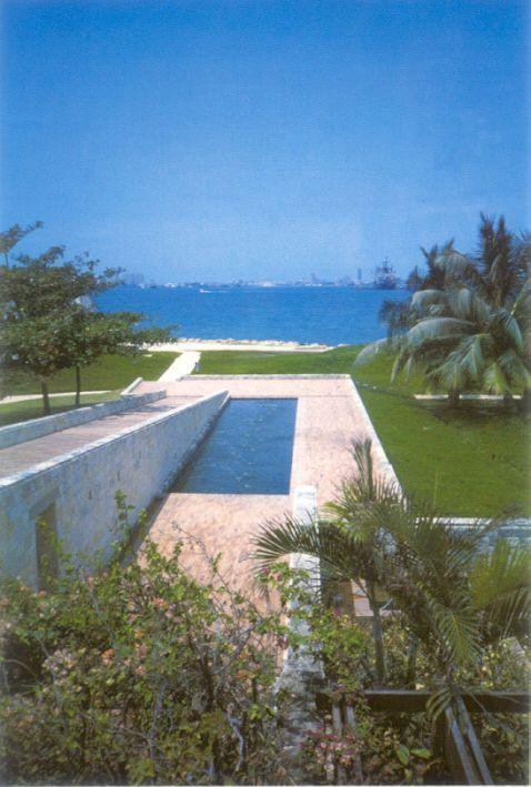 Casa presidencial del Fuerte San Juan de Manzanillo, Cartagena, Colombia - Rogelio Salmona - © Rogelio Salmona