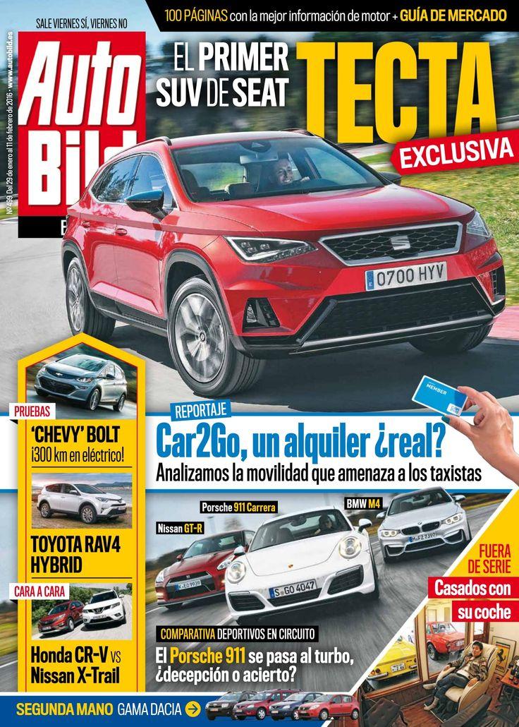 Revista #Autobild 498. El primer SUV de #Seat. #Toyota, #Honda, #Nissan...