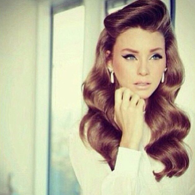 Tremendous 1000 Images About Old Hollywood Hair Styles On Pinterest Short Hairstyles Gunalazisus