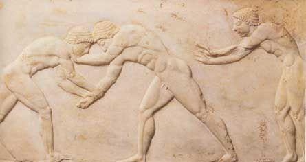 Jeux antiques - Jeux olympiques et autres jeux panhelléniques - Herodote.net
