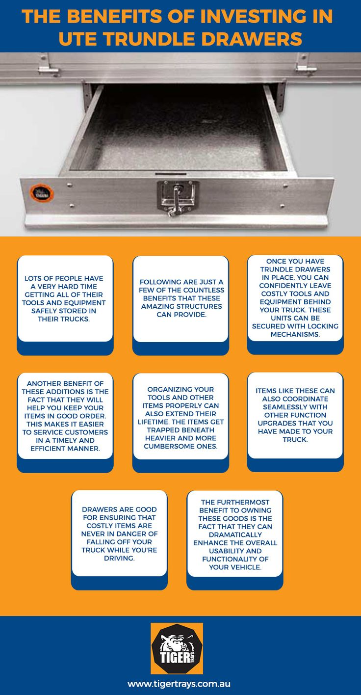 The Benefits Of Investing In Ute Trundle Drawers Tools And Equipmentsafe Storagethe