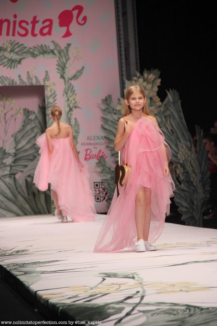 Алена Ахмадуллина для Barbie