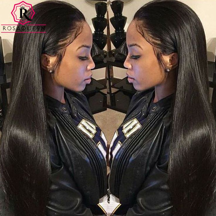 Lace Front Human Hair Wigs 250% Density Full Lace Human Hair Wigs For Black Women Brazilian Straight Hair Wig Lace Frontal Wigs