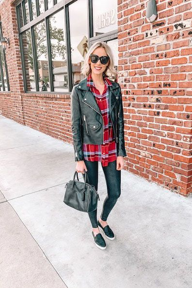 How to Wear Leggings Casually and the Best Long Tops to Wear with Them – Straigh…