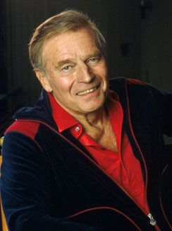 Charlton Heston (born John Charles Carter; October 4, 1923 – April 5, 2008)