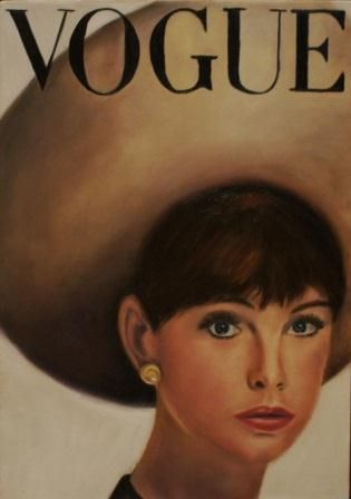 Vogue cover May 1963