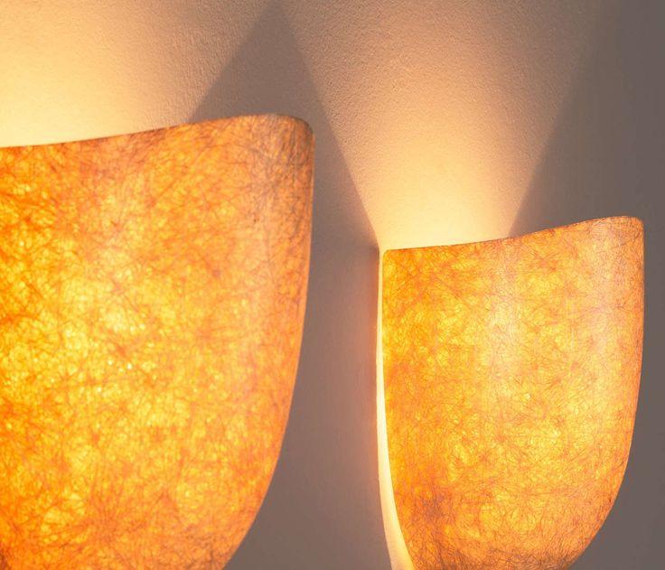 Set of Four Mazzega Glass Wall Lights