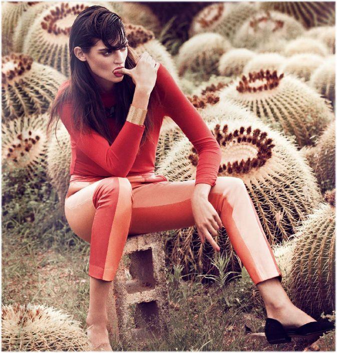Koraal en roodtinten halen passen niet alleen goed bij vrouwen met donker haar maar ook heel goed bij blonde vrouwen (Maxima draagt ook veel rood en oranje tinten)