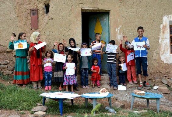Maroc - A la découverte de l'éco-musée de la vallée des Bougmez - Les très accueillants cultivateurs Berbères vont feront découvrir leurs vies actuelles et celles de leurs ancêtres.