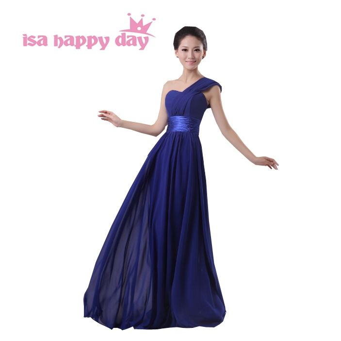 long purple chiffon fuchsia pink bridesmaids dress gown elegant bridesmaid  party dresses dark green for women for wedding H3152 dd9b3d725261