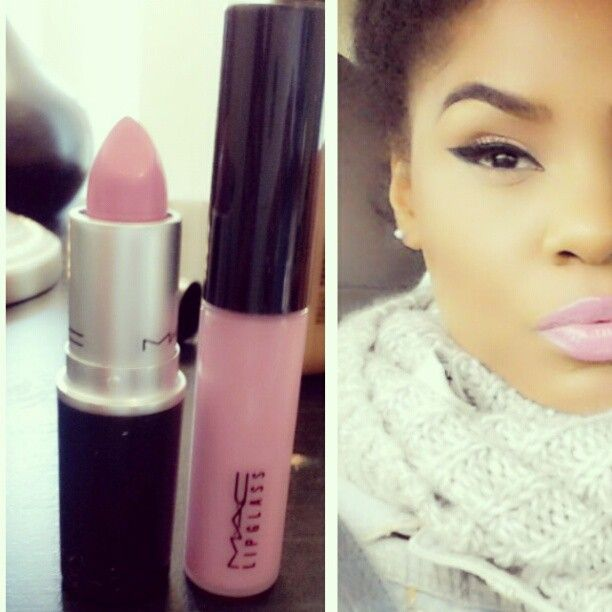 Favorite lipstick and gloss. Snob.