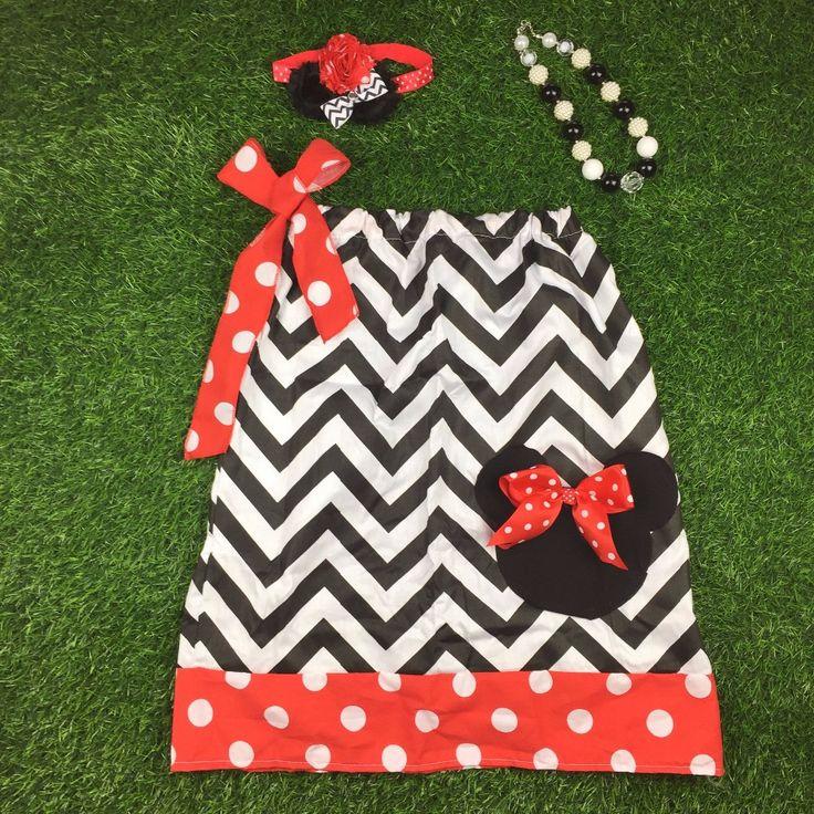 Minnie Pillow Case Dress SET