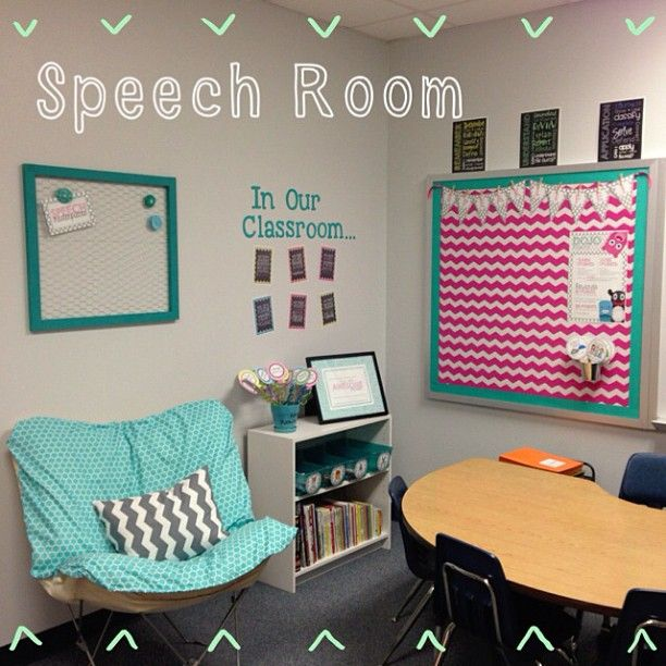 "my speech room is complete! -Submitted by justspeechy on Instagram - Visit the @PediaStaff ""MyTherapyRoom Share"" Board on Pinterest to see more contributions"
