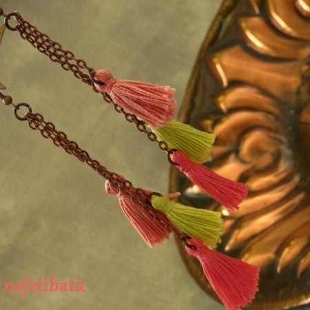 Scent of Heather ° boho ° boho chic ° boheme ° hippies ° gypsy ° ethno ° jewelry ° freedom ° joy ° handmade  ° tassel