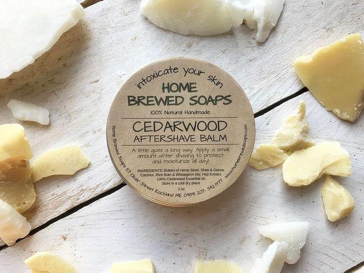 Natural After Shave Balm - Cedarwood