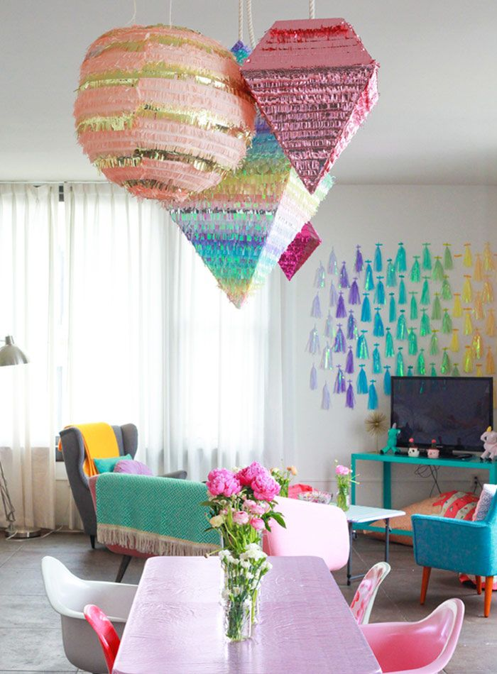 An LA Loft with Gutsy Glitter and Sparkle | Design*Sponge