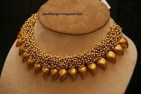 Terracotta neck set
