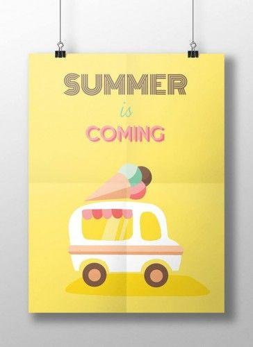 Tiringer Viktória flat design plakátja