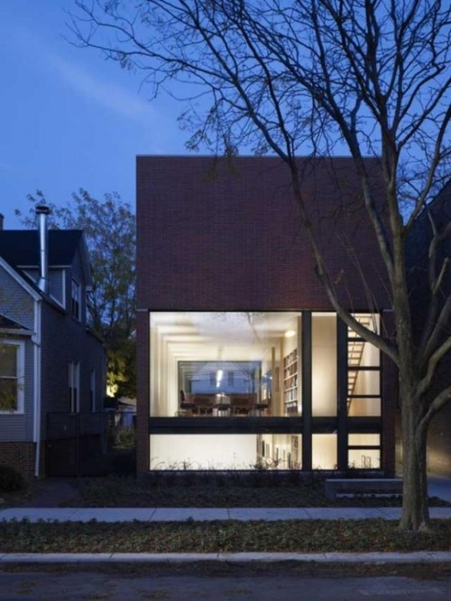 Claremont House: Residential Architecture, Projects, Brininstool Lynch, Architecture Interiors, Modern Architecture, Chicago, Design Home, Houses Design, Claremont Houses