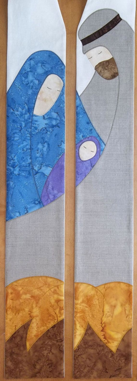Christmas Clergy Stole with Holy Family by SerendipityStoles, $292.00