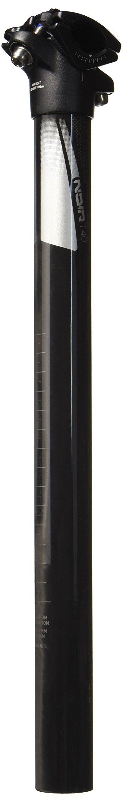 TruVativ Noir T40 0mm Offset Carbon Seatpost Silver, 400/30.9