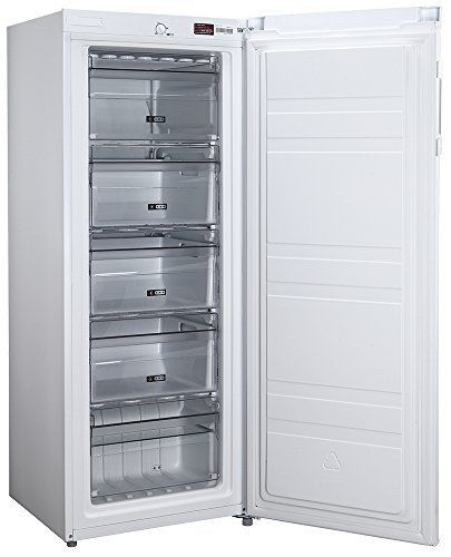Russell Hobbs Freestanding 142cm Tall Freezer, A+ Rating, 157 Litre Net Capacity, White, Reversible Door, RH55FZ142 https://www.ukappliancesdirect.com/product/candy-ccbf5182bwk-a-rated-frost-free-178-litres-fridge-81l-freezer-in-black-new/