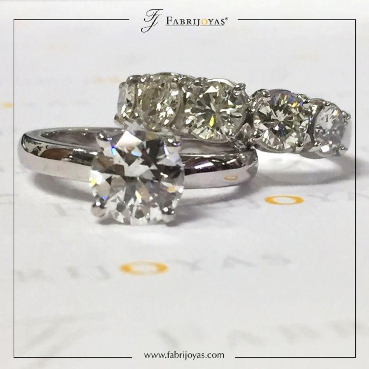Ya no se trata tanto de expresar el simbolismo en los Anillos de Compromiso y Argollas de Matrimonio, estos anillos deben representar el estilo y la personalidad de quien los usa. 💛😍💍 #AnillosDeCompromiso #ArgollasDeMatrimonioCali #JoyeriaNoviasCali